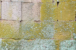 τοίχος πετρών στο κάστρο Στοκ φωτογραφία με δικαίωμα ελεύθερης χρήσης