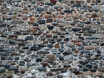 Τοίχος πετρών του αρχαίου φρουρίου Στοκ εικόνες με δικαίωμα ελεύθερης χρήσης