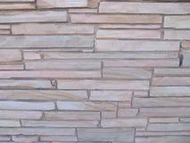Τοίχος πετρών Blocky με τις πέτρες των διαφορετικών μεγεθών 1 στοκ εικόνα