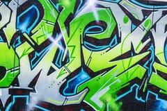 Τοίχος που καλύπτεται Γερμανία με τα γκράφιτι στο Βερολίνο, Στοκ Εικόνες