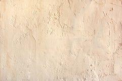 Τοίχος που καλύπτεται με το ασβεστοκονίαμα Στοκ Φωτογραφία