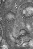 Τοίχος προσώπου του Βούδα Στοκ Εικόνες