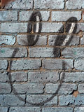 τοίχος προσώπου στοκ φωτογραφία
