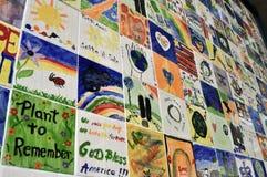 τοίχος πρόνοιας νησιών ελ&p Στοκ εικόνα με δικαίωμα ελεύθερης χρήσης