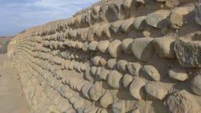 Τοίχος πυραμίδων Στοκ εικόνες με δικαίωμα ελεύθερης χρήσης
