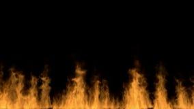 Τοίχος πυρκαγιάς ελεύθερη απεικόνιση δικαιώματος