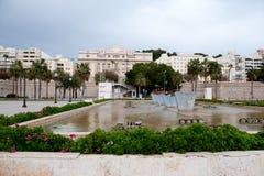 Τοίχος πόλεων της Καρχηδόνας Περιοχή Murcia, Ισπανία Στοκ φωτογραφίες με δικαίωμα ελεύθερης χρήσης