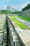 Τοίχος πόλεων του Ναντζίνγκ Ming Στοκ εικόνα με δικαίωμα ελεύθερης χρήσης