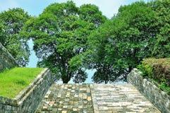 Τοίχος πόλεων του Ναντζίνγκ Ming Στοκ εικόνες με δικαίωμα ελεύθερης χρήσης