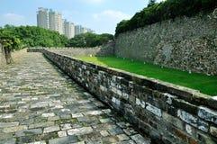 Τοίχος πόλεων του Ναντζίνγκ Ming Στοκ Εικόνα