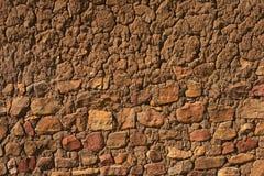 Τοίχος πλίθας βράχου Στοκ εικόνα με δικαίωμα ελεύθερης χρήσης