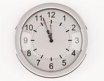 Τοίχος-ρολόι Στοκ εικόνα με δικαίωμα ελεύθερης χρήσης