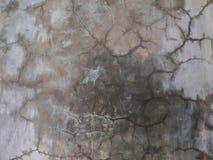 Τοίχος ρωγμών, παλαιό σπασμένο γκρίζο υπόβαθρο σύστασης τσιμέντου Στοκ φωτογραφία με δικαίωμα ελεύθερης χρήσης