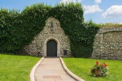 Τοίχος σε Wawel Castle στοκ φωτογραφίες με δικαίωμα ελεύθερης χρήσης