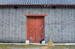 τοίχος σκουπών Στοκ Φωτογραφίες