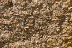 Τοίχος στις καταστροφές Στοκ Εικόνες