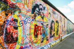 Τοίχος στοών ανατολικών πλευρών Στοκ Φωτογραφία