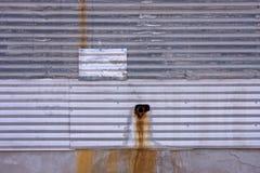 τοίχος σύστασης μετάλλω&n Στοκ Εικόνες