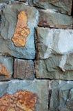 τοίχος σύστασης πετρών Στοκ εικόνες με δικαίωμα ελεύθερης χρήσης