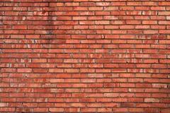 τοίχος σύστασης τούβλο&upsil Στοκ Φωτογραφία