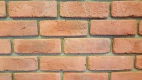 Τοίχος σύστασης τούβλου Στοκ Φωτογραφία