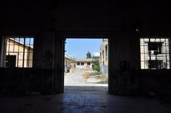 Τοίχος τέχνης γκράφιτι στη Κύπρο Στοκ Φωτογραφίες