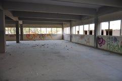 Τοίχος τέχνης γκράφιτι στη Κύπρο Στοκ εικόνες με δικαίωμα ελεύθερης χρήσης