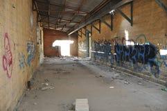 Τοίχος τέχνης γκράφιτι στη Κύπρο Στοκ Εικόνα