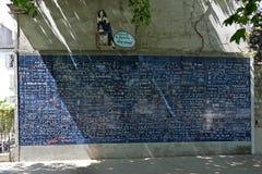 Τοίχος της αγάπης Στοκ Εικόνες