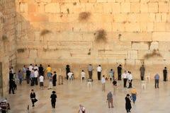 τοίχος της Ιερουσαλήμ δ Στοκ Εικόνες