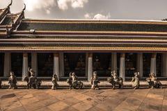 Τοίχος της κληρονομιάς στη Μπανγκόκ, Ταϊλάνδη Στοκ φωτογραφία με δικαίωμα ελεύθερης χρήσης
