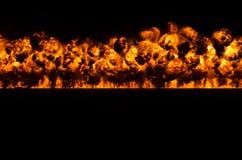 Τοίχος της πυρκαγιάς Στοκ εικόνα με δικαίωμα ελεύθερης χρήσης