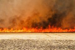 Τοίχος της πυρκαγιάς στοκ εικόνες