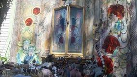 Τοίχος της τέχνης Στοκ φωτογραφίες με δικαίωμα ελεύθερης χρήσης