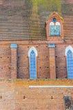 Τοίχος της υπόθεσης NMP και του καθεδρικού ναού Andrzej ελαιόπρινου Στοκ φωτογραφία με δικαίωμα ελεύθερης χρήσης