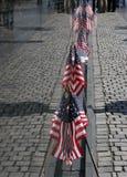 τοίχος του Βιετνάμ αντανακλάσεων σημαιών Στοκ εικόνα με δικαίωμα ελεύθερης χρήσης