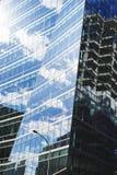 Τοίχος του γυαλιού Στοκ Φωτογραφίες