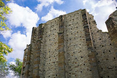 Τοίχος του εκλεκτής ποιότητας κάστρου Στοκ Φωτογραφίες