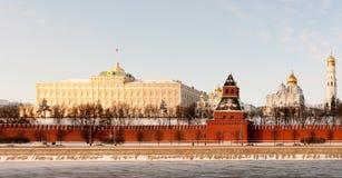 Τοίχος του Κρεμλίνου - Μόσχα, Ρωσία Στοκ Εικόνες