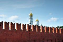 Τοίχος του Κρεμλίνου στοκ εικόνα με δικαίωμα ελεύθερης χρήσης