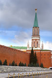 τοίχος του Κρεμλίνου Μό&sigma Στοκ φωτογραφίες με δικαίωμα ελεύθερης χρήσης
