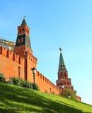 Τοίχος του Κρεμλίνου Στοκ Φωτογραφίες