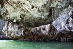 Τοίχος του νησιού ασβεστόλιθων στοκ εικόνα