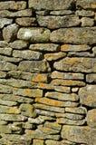 Τοίχος του ξηρού Stone Στοκ Εικόνες
