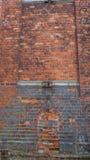 Τοίχος του παλαιού μέρους του πορτοκαλιού κτηρίου Στοκ εικόνες με δικαίωμα ελεύθερης χρήσης