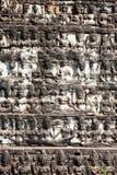 Τοίχος του πεζουλιού του βασιλιά λεπρών, Angkor Wat, Καμπότζη Στοκ εικόνες με δικαίωμα ελεύθερης χρήσης