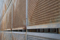 Τοίχος του χάλυβα Στοκ Φωτογραφία