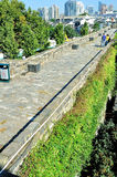 Τοίχος του Castle πυλών Zhonghua Στοκ φωτογραφία με δικαίωμα ελεύθερης χρήσης