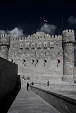 Τοίχος του Castle Στοκ φωτογραφίες με δικαίωμα ελεύθερης χρήσης