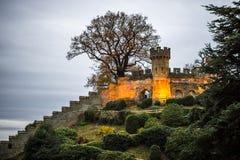 Τοίχος του Castle Warwick Στοκ φωτογραφίες με δικαίωμα ελεύθερης χρήσης